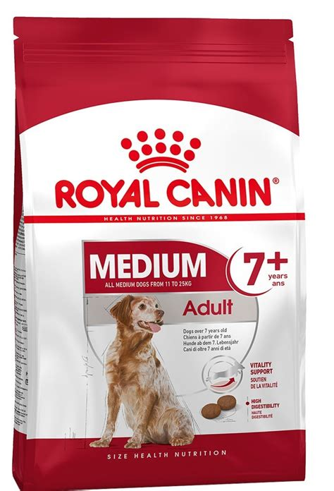 royal canin medium adult  trockenfutter fuer aeltere