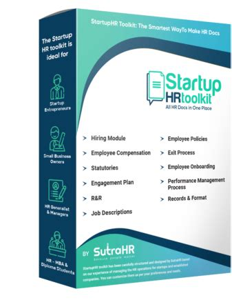 startuphr toolkit product startuphr toolkit