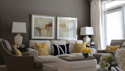 Amazing Of Gray Sofa Living Room Ideas And Yellow Cotton 4390