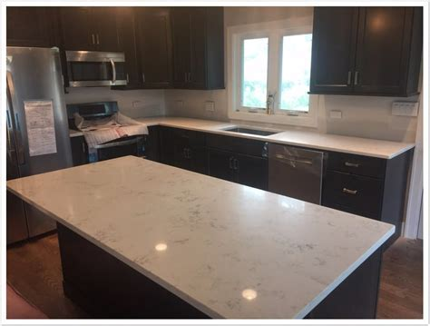 Carrara Grigio MSI Quartz ? Denver Shower Doors & Denver