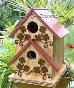 Scroll Saw Bird Feeder Patterns - WoodWorking Projects & Plans