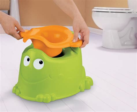Green Frog Potty Chair by Fisher Price Green Froggy Potty Seat X4808