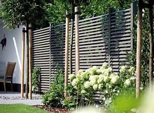 Holztrennwände Für Den Garten : sichtschutz im garten holz vom fach ~ Sanjose-hotels-ca.com Haus und Dekorationen