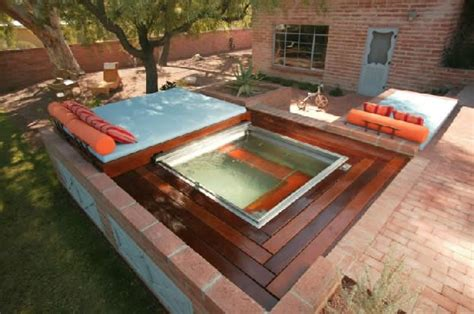 backyard spa designs spas tucson az photo gallery landscaping network