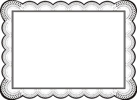 certificate borders  word clipart  page