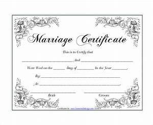 30 wedding certificate templates free sample example With wedding certificate templates free printable