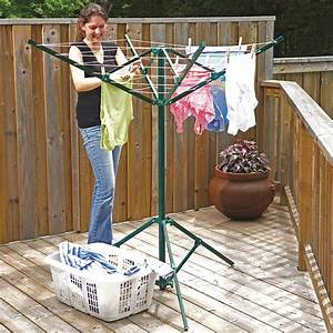 Greenway Portable Outdoor Rotary Clothesline  Ghp Group Inc