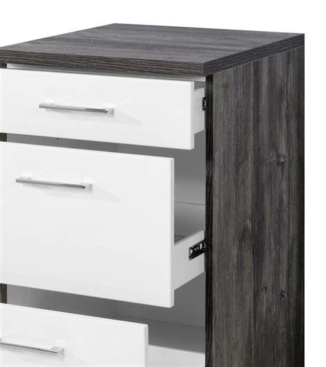 Unterschrank Schubladen Küche by K 252 Chen Unterschrank Lissabon 3 Schubladen 50 Cm Breit