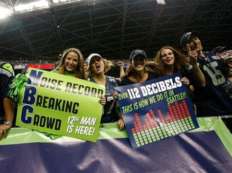 seattle seahawks fans claim  set guinness record