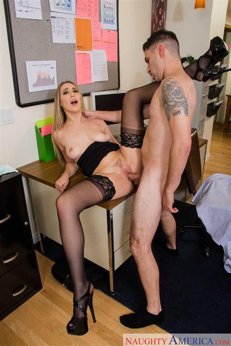 Blonde Secretary Had Sex In Her Office Photos Kimber Lee