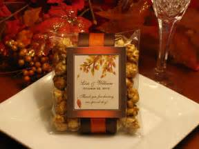 fall wedding favors fall wedding favors decoration