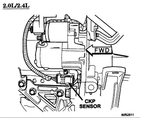 Chrysler Engine Knock Sensor Wiring Diagram by 2002 Dodge Stratus 2 4l Wiring Diagram Crankshaft Position