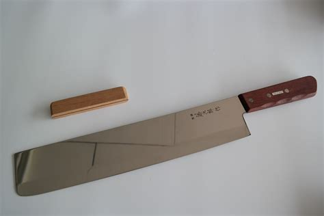 large kitchen knives tojiro fg3100 large almighty knife 345mm cutlery chef