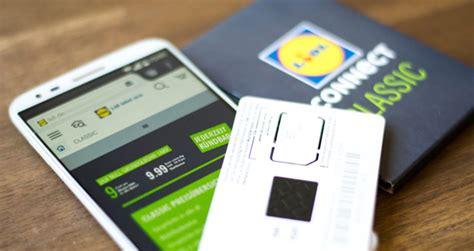 lidl connect mobil prepaid angebote kosten uvm