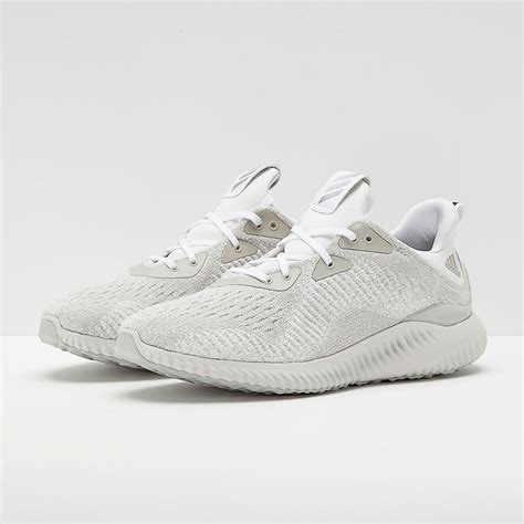 mens shoes adidas alphabounce white whitesilver met