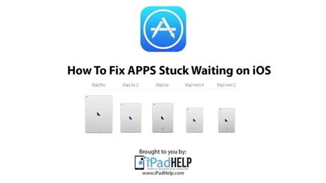 iphone apps waiting how to fix ios apps stuck on waiting for iphone