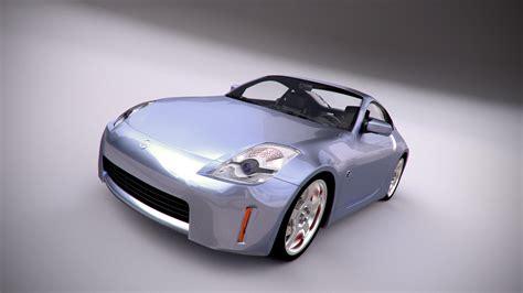 Nissan 350z, Render: Blender Cycles | Nissan 350z, Sports car, Nissan