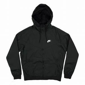 Nike Windrunner Jacket Black - Mens Clothing from Attic Clothing UK