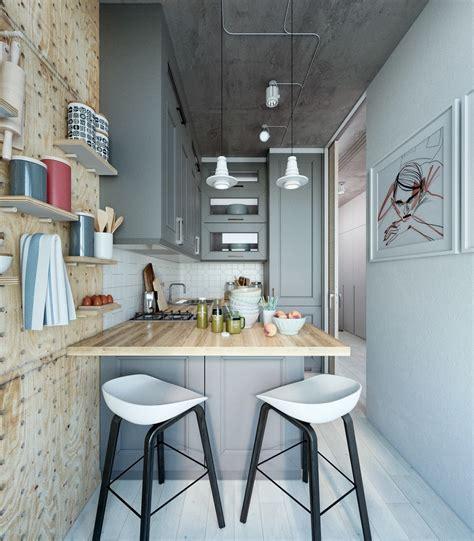 takes    super small apartment