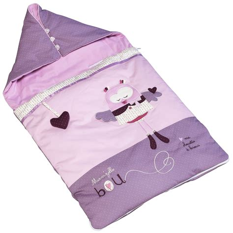 chambre sauthon mam 39 zelle bou nid d 39 ange 80 cm violet 80cm de sauthon baby