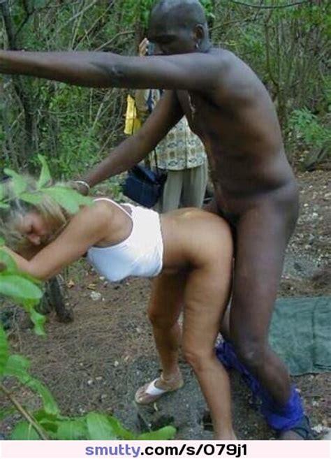 Interracial Jamaica Beachbanging Public Slutwife Cuckold Blonde