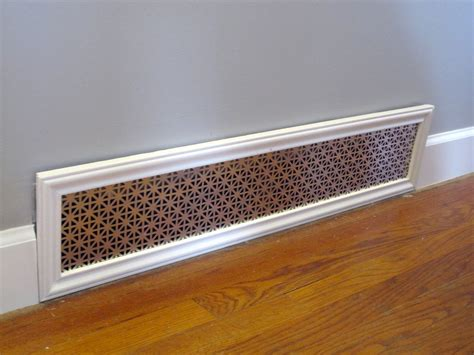 Decorative Cold Air Return Grilles by Beautifully Contained Custom Vent Covers