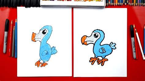 draw  dodo bird art  kids hub