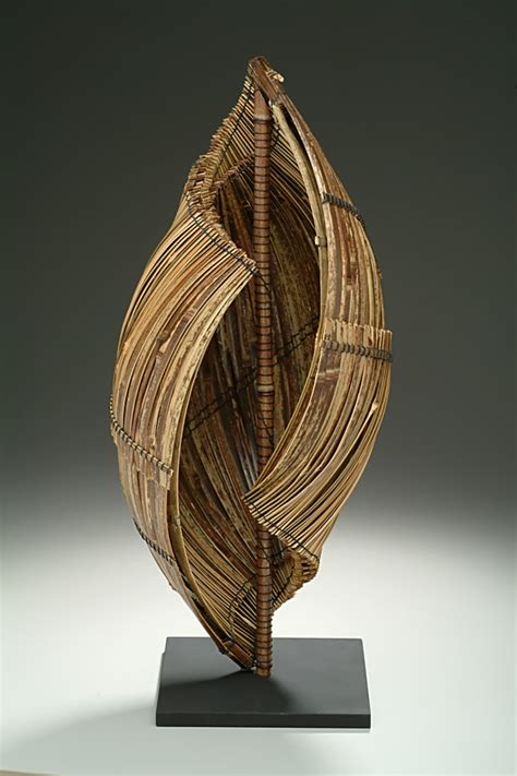 hearing  sea  charissa brock bamboo sculpture