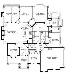 House Plans With And Bathroom Craftsman Style House Plan 3 Beds 2 Baths 2320 Sq Ft Plan 132 200