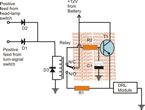 Smart Car Drl Circuit Elektronik Electronic