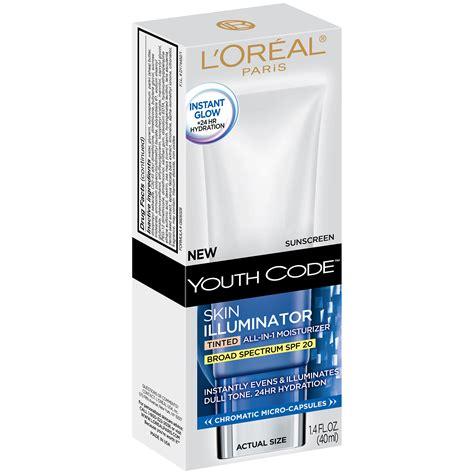 L The Illuminator I l oreal youth code skin illuminator tinted lotion spf 20