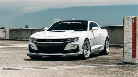 Chevrolet Camaro White 5K Wallpaper | HD Car Wallpapers ...