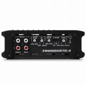 Mtx Thunder75 4 4 B Car Amplifier 200w