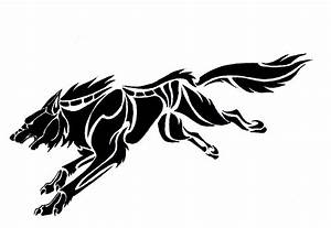 European Tattoo Design: Wolf tribal tattoos designs