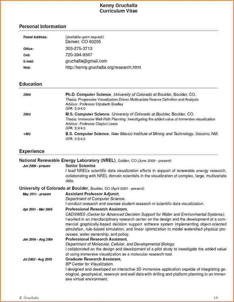science research resume objective 28 images resume