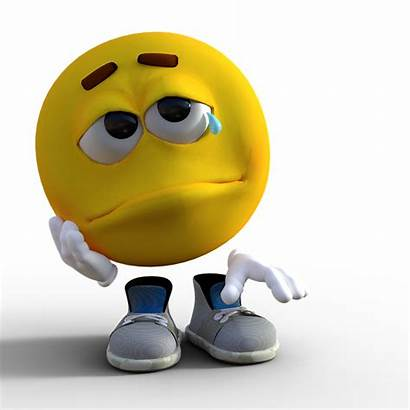 Emoji Smiley Sad Crying Sadness Tear Cry