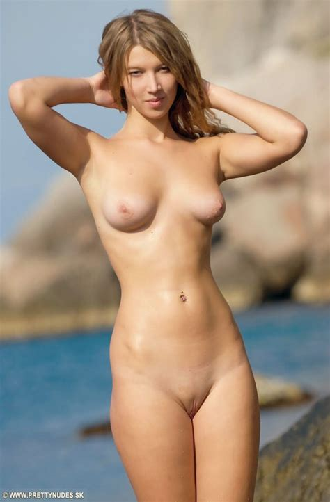 Pinkfineart Anjelica In Sea From Pretty Nudes