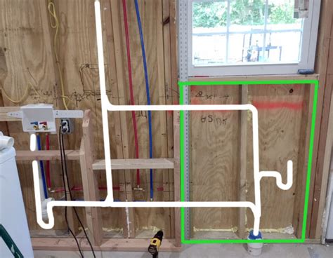 laundry room utility sink plumbing diagram questions