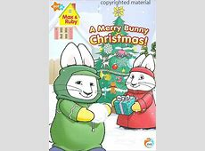Merry Max Ruby Bunny Christmas Dvd And 8