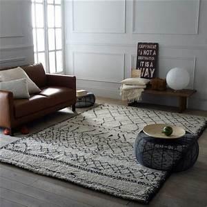 Les tapis berberes beni ouarain for Tapis oriental avec canapé vintage la redoute