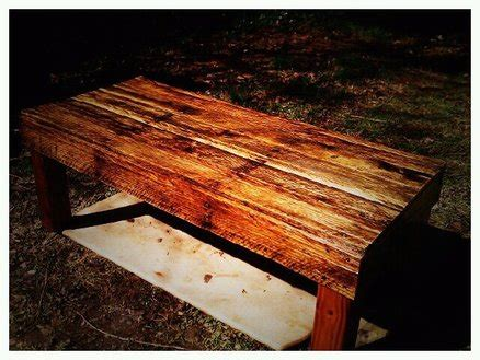 Upcycled Shipping Pallet Coffee Table For Under $20 By