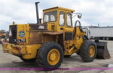 1989 volvo michigan l70 articulated wheel loader item z912