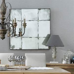 Grand Miroir Maison Du Monde : specchio effetto anticato h 100 cm angelina maisons du monde ~ Teatrodelosmanantiales.com Idées de Décoration