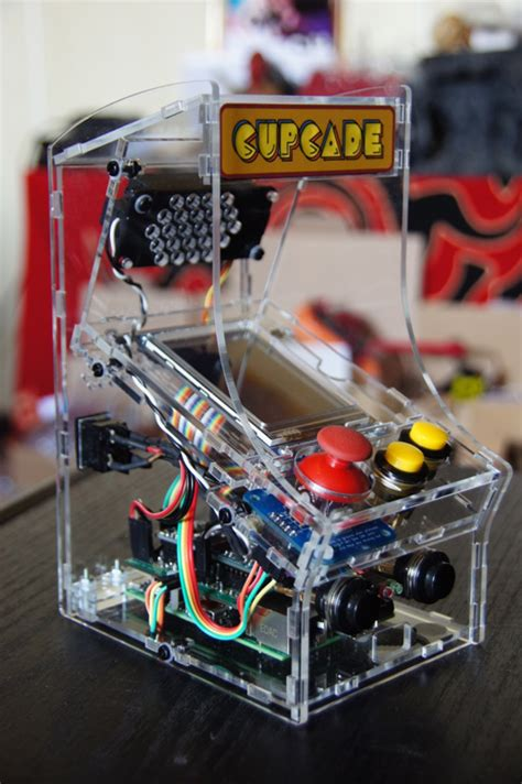 Raspberry Pi Arcade Cabinet Kit by My Cupcade Addiction Transparent Cupcade The Raspberry
