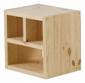 Meuble De Rangement Cube : sejour meuble tele cube rangement pin brut le magasin d 39 usine de meubles ~ Teatrodelosmanantiales.com Idées de Décoration