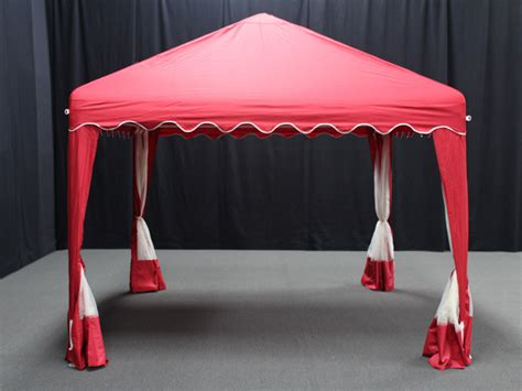 garden party canopy    red