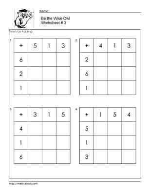 addition  images  grade math worksheets