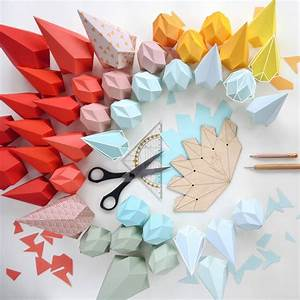 origami template diamond by bonnie and bell ...