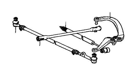 Toyota Truck Arm Steering Knuckle Left Suspension