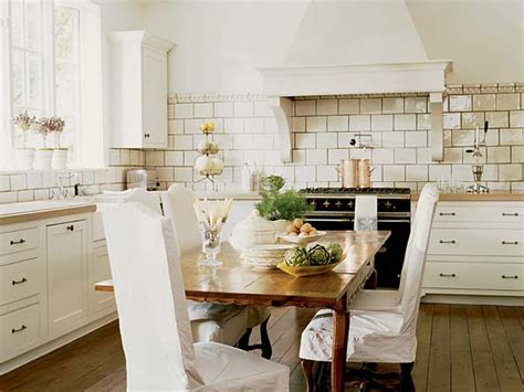 country kitchen backsplash black range cottage kitchen interiors